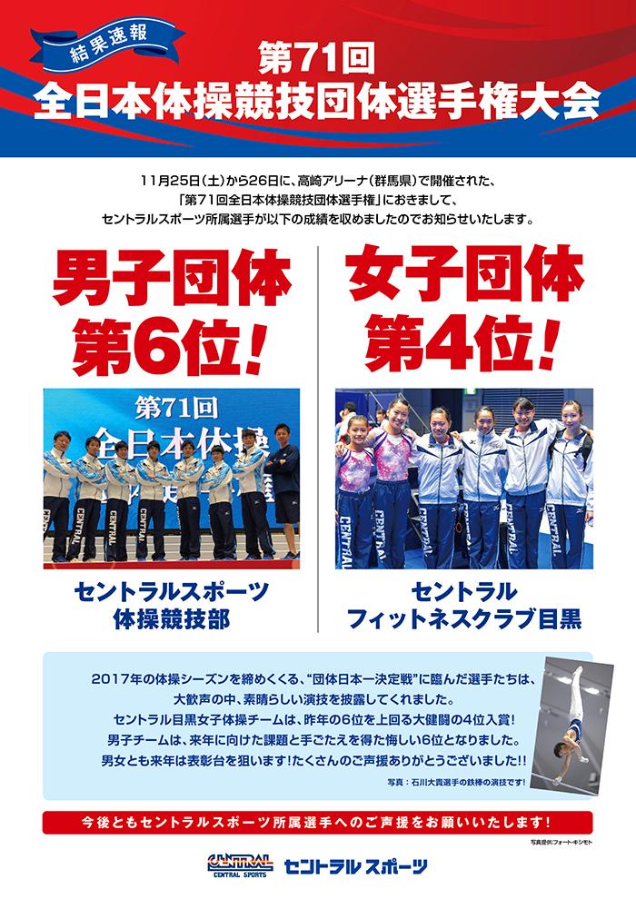 171126全日本体操競技団体選手権結果WEBck