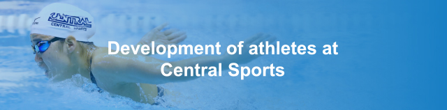 Development of athletes at Central Sports
