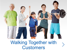 Walking Together with Customers